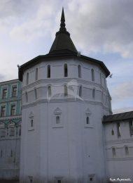 Башня юго-западная. Даниловский монастырь. Крепостные башни, XVII в.