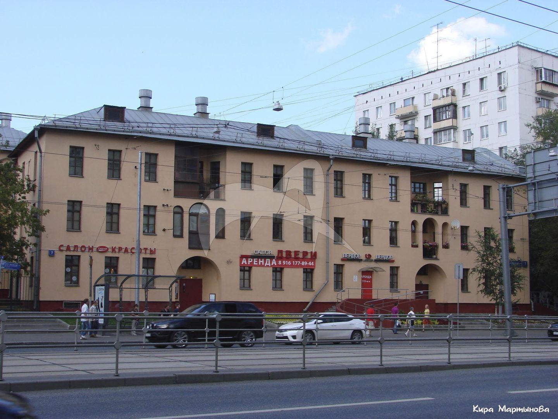Жилые дома (фрагмент планировки и застройки города Москвы 1920-1930-хх гг.), 1925-1930 гг.