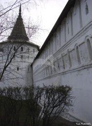 Башня юго-восточная. Даниловский монастырь. Крепостные башни, XVII в.