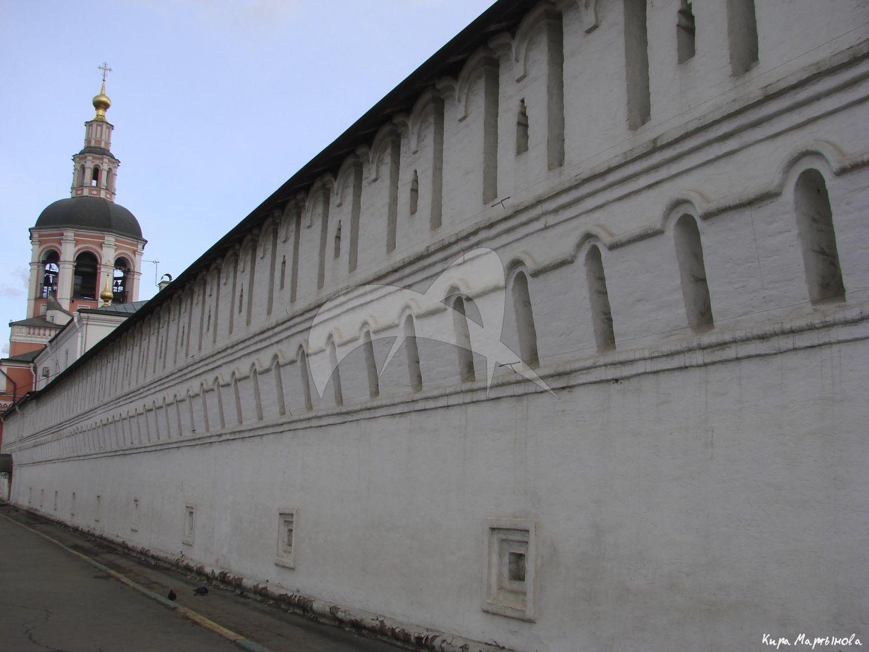 Стены, XVII в., Даниловский монастырь