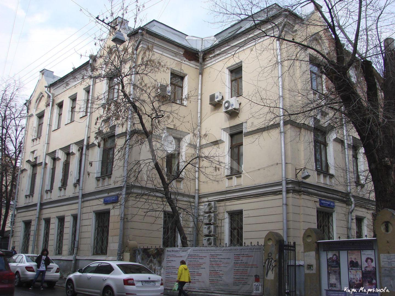 Служебный корпус (дом причта), комплекс Лютеранской кирхи, 1905 г., арх. Коссов В.А.