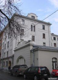 Жилой дом для преподавателей, 1912-1913 гг., инженер-архитектор О.В. фон  Дессин, Петропавловское мужское лютеранское училище