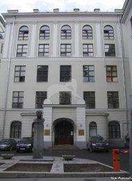 Здание училища, 1912-1913 гг., инженер-архитектор О.В. фон Дессин, Петропавловское мужское лютеранское училище