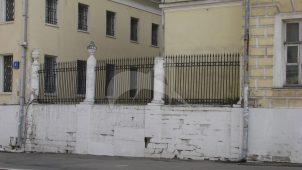Ограда, начало XIX в., арх. М.Ф. Казаков, дом Демидова
