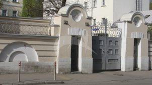 Ограда, усадьба, начало XIX в.