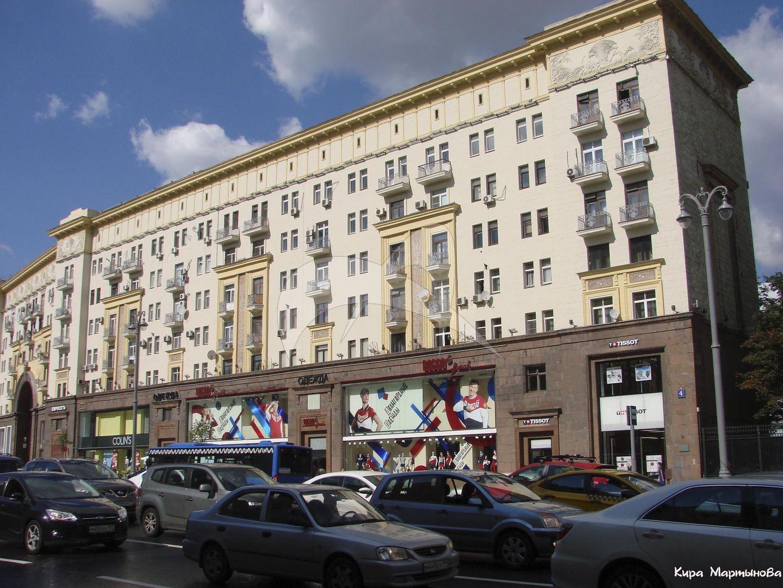 Жилой дом, 1937-1939 гг., арх. А.Г. Мордвинов, инж. П.А. Красильников