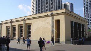 Станция Московского метрополитена Арбатско-Покровской линии «Измайловский парк», 1944 г. (ныне «Партизанская»)