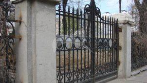 Ограда, XIX в., городская усадьба, начало XIX в.