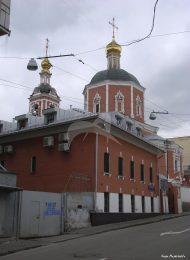 Церковь Петра и Павла у Яузских ворот, 1700 г. Колокольня, 1771 г.