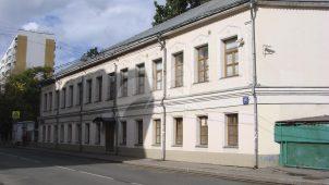 Двухэтажный дом, городская усадьба