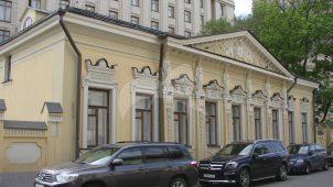 Городская усадьба М.С. Грачева, 2-я половина XVIII в. — XIX в., арх. Н.П. Краснов