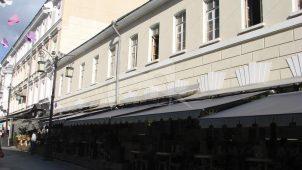 Гостиница И. Шевалье, 2-я половина XIX в. (в основе — главный дом городской усадьбы Трубецких, конец XVIII в. — 1-я половина XIX в.)
