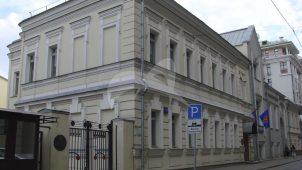 Городская усадьба А.И. Фонвизина — В.А. Еремееева, XVIII в. — начало XX вв., арх. В.Ф. Жигардлович. Здесь в 1789 г. родился декабрист И.А.Фонвизин, в конце 1850-х гг. жил декабрист П.Н.Свистунов