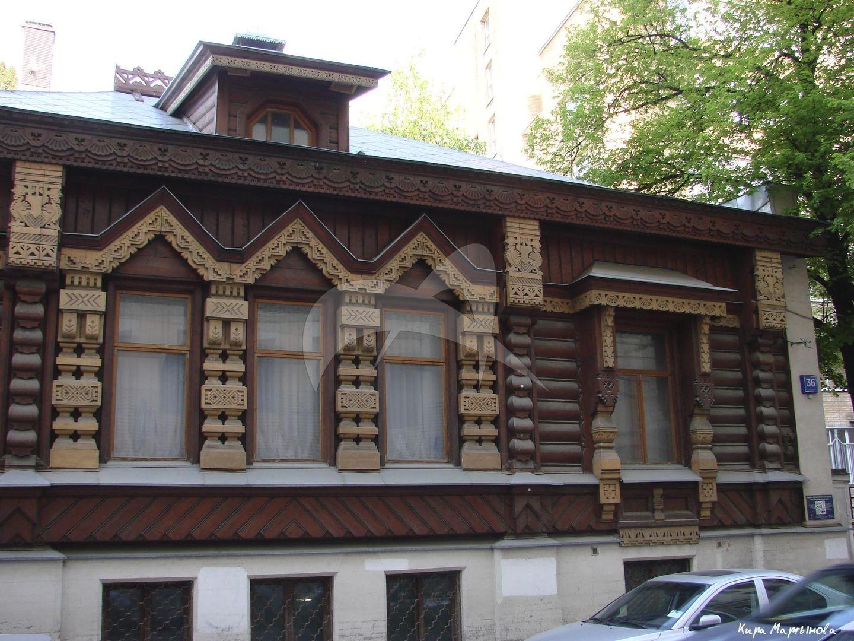 Дом Пороховщикова (дер.), 1872 г., арх. Гун А.Л.