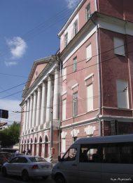 Главный дом Мусина-Пушкина, конец XVIII в., арх. М.Ф. Казаков