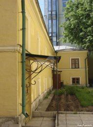Западный корпус, 1856-1857 гг., хозяйственные корпуса городской усадьбы, середины XIX в.