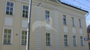 Жилой дом (дом Сарептского евангелического общества), ансамбль городской застройки, конец XVIII — начало XIX вв.