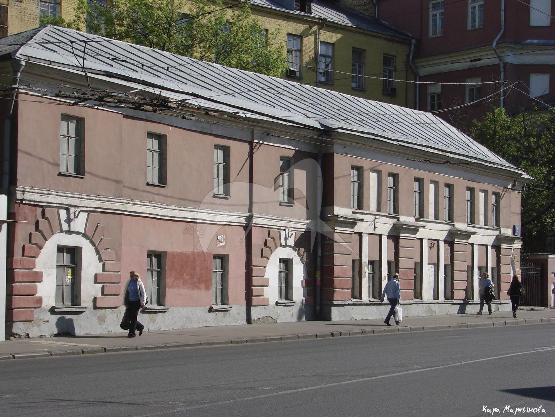 Флигель северный, дом Мусина-Пушкина, конец XVIII в., арх. М.Ф. Казаков