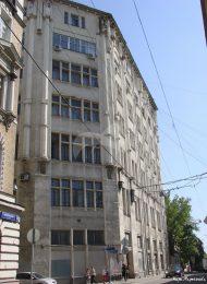 Здание, где находится квартира, в которой в 1934-1946 гг. жил и работал художник Лансере Е.Е.