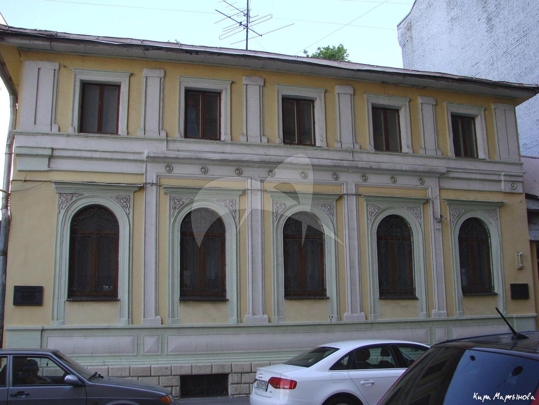 Главный дом, усадьба Григорьева, 1842 г.. Дом архитектора А.Г. Григорьева, в котором он жил и работал в 1842-1868 гг.