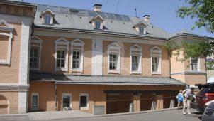 Главный дом с палатами, конец XVII в., 1730-е гг., 1764 г., XIX в., городская усадьба А.И. Онучина — Д.Е. Тверитинова — Г.А. Тембоза