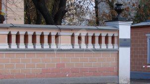 Ограда по Сущевской ул., городская усадьба Н.С. Третьякова