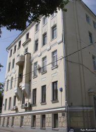 Доходный дом (в основе палаты, 1757 г., 1791 г.), 1820-е гг., 1903 г., арх. Б.Н. Шнауберт