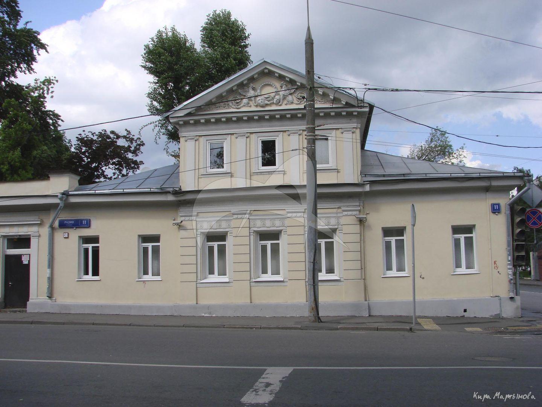 Главный дом, начало XIX в., 1896 г., арх. П.А. Дриттенпрейс, городская усадьба