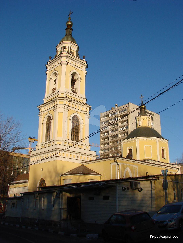 Церковь Девяти мучеников, конец XVII в., середина XIX в.