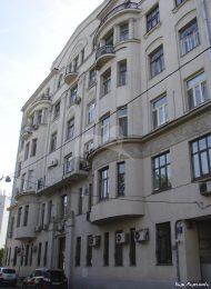 Доходный дом А.Я. Меркель, 1907 г., арх. Б.М. Великовский
