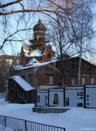 Церковь во имя Рождества Иоанна Предтечи, 1915-1917 гг.