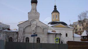 Церковь Николы в Дербеневском, XVII в.