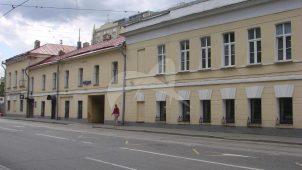 Восточный корпус, гостиница у Покровских ворот, начало XIX в., арх. В.П. Стасов