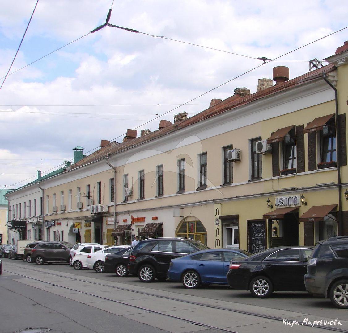 Гостиница у Покровских ворот, начало XIX в., арх. В.П. Стасов