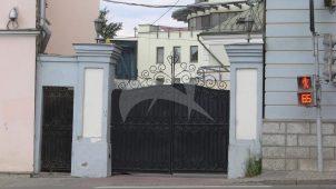 Ворота по Яузскому бульвару, городская усадьба, конец XVIII в.