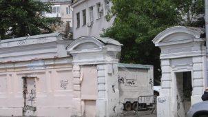 Пилоны ворот, XIX в., городская усадьба