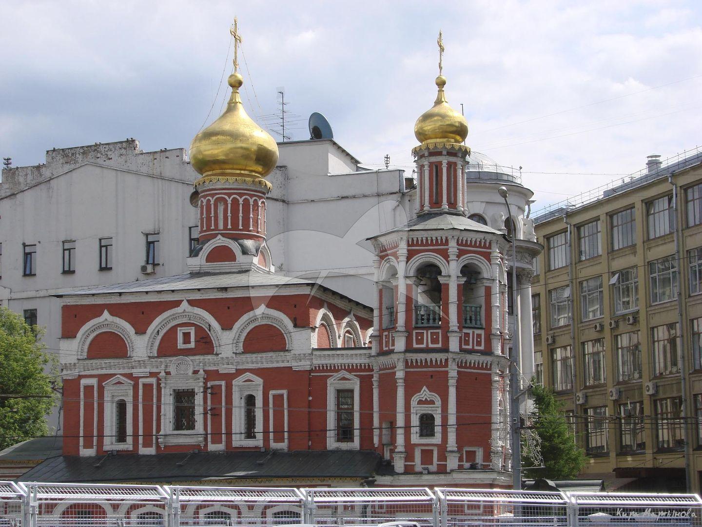 Церковь Всех Святых на Кулишках, 1380 г. Перестроена в XVI-XVII вв.