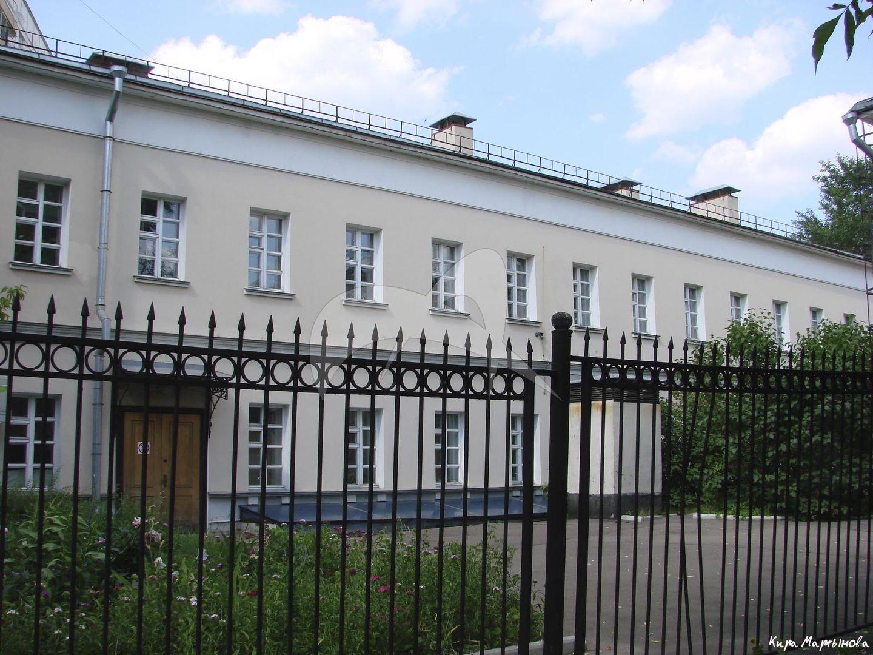 Флигель, дома с двумя флигелями и воротами, конец XVIII в., по проекту М.Ф. Казакова