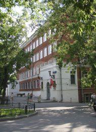 Школа № 353 — место формирования в 1941 году частей 7-ой дивизии Народного ополчения Бауманского района г. Москвы 1930-е гг.