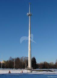 Флагшток (высота около 54 м.), 1962 г., Дворец пионеров и школьников им. 40-летия Всесоюзной пионерской организации