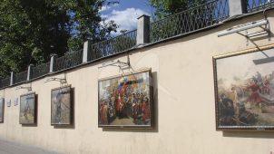 Ограда, XIX в., комплекс Спасских казарм