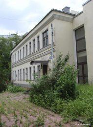 Дом, в котором жил и в 1921 г. умер Жуковский Николай Егорович