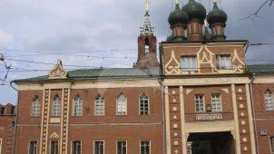 Надвратный корпус с часовней 1801-1806 гг., ансамбль Никольского Единоверческого монастыря, XVIII-XIX вв.