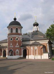 Никольская церковь (Успенская моленная), 1801 г., ансамбль Никольского Единоверческого монастыря, XVIII-XIX вв.