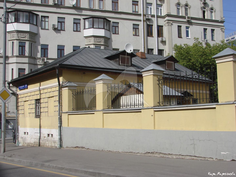 Дом причта, XIX в., церковь Николая Чудотворца на Щепах