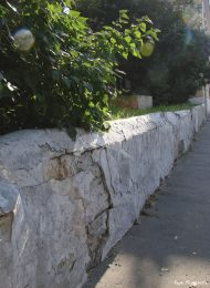 Ограда, начало XIX в., городская усадьба
