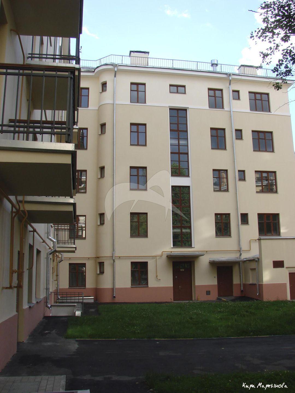 Жилой дом, 1928-1929 гг., арх. И.С. Николаев, М.М. Русанова, жилой поселок «Преображенский»