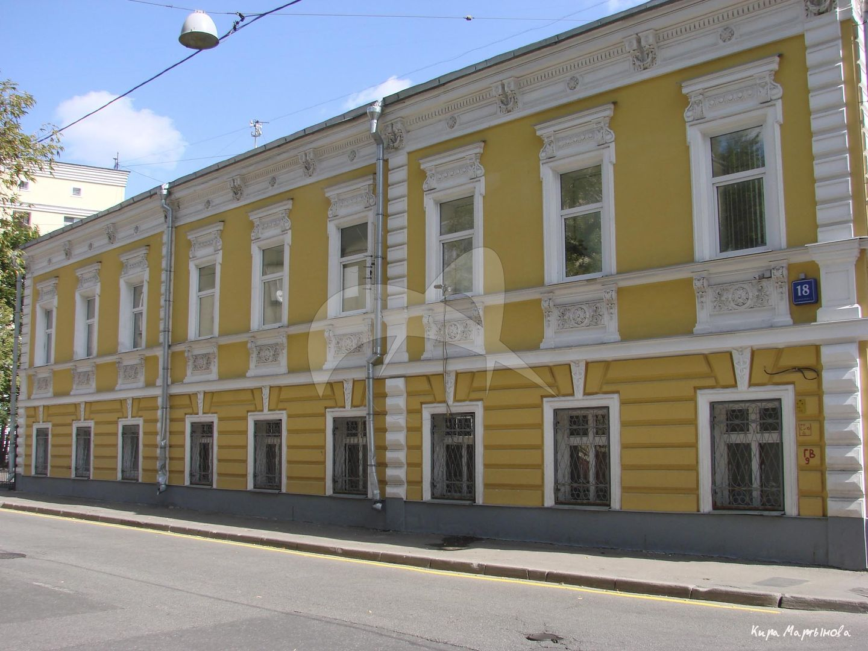 Жилой дом, Е.П. Соколовой — Н.М. Кандырина, 1858 г., 1892 г., арх. Н.И. Финисов