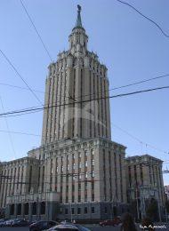 Гостиница «Ленинградская», 1949-1953 гг., арх. Поляков Л.М., Борецкий А.Б.