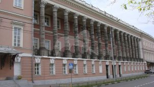 Екатерининский дворец, 1772-1776 гг., арх. Д. Кваренги, А. Ринальди, Ф. Кампорези